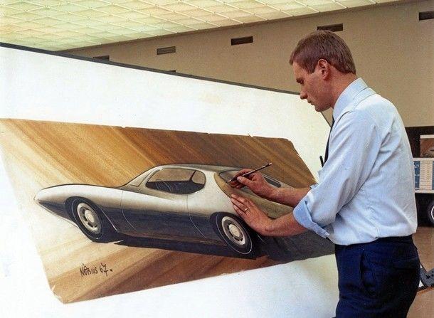 50 años de estudio de diseño de Opel