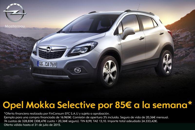 Promoción Opel Mokka desde 85€ a la semana