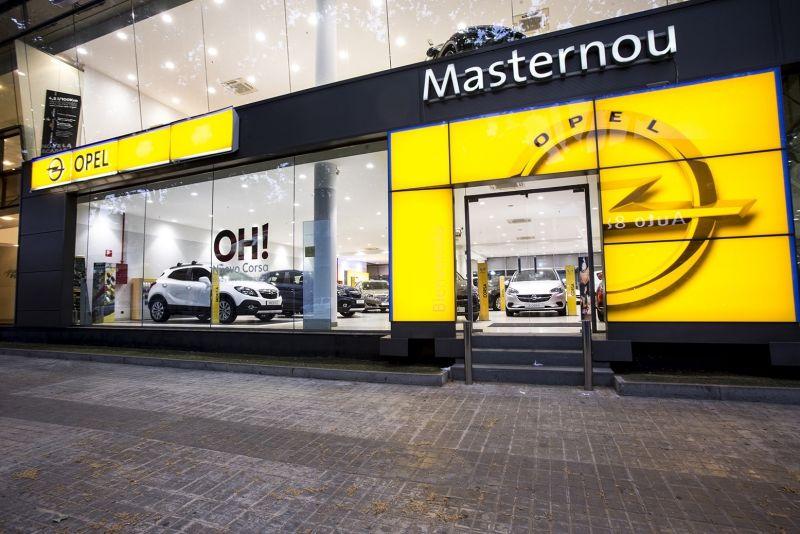Masternou se afianza como concesionario oficial Opel