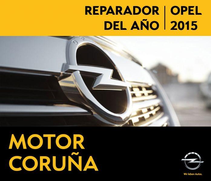 MOTOR CORUÑA REPARADOR OPEL DEL AÑO 2015