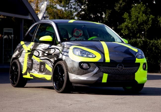 Descubre el Opel Adam diseñado por Valentino Rossi
