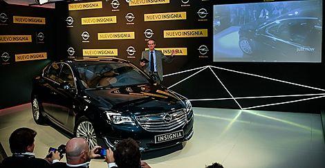 Opel Insignia: a través de las Google Glasses