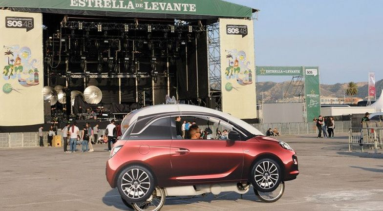Opel, coche oficial del festival SOS 4.8