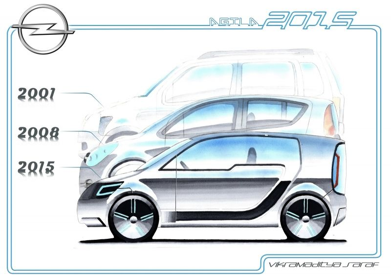 Nuevo Opel Agila 2015
