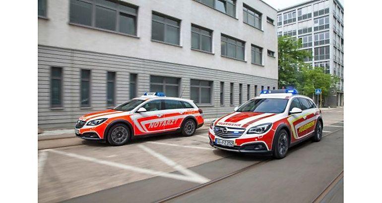 Opel en el salón europeo del auxilio y emergencias RETTmobil 2014