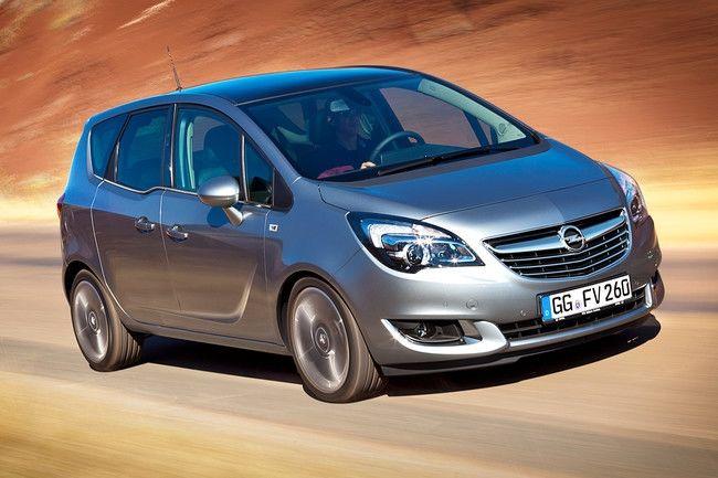 El Opel Meriva lidera satisfacción en monovolúmenes pequeños