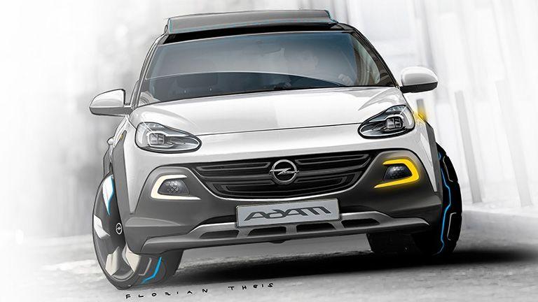 Opel Adam Rocks, a la caza del público masculino