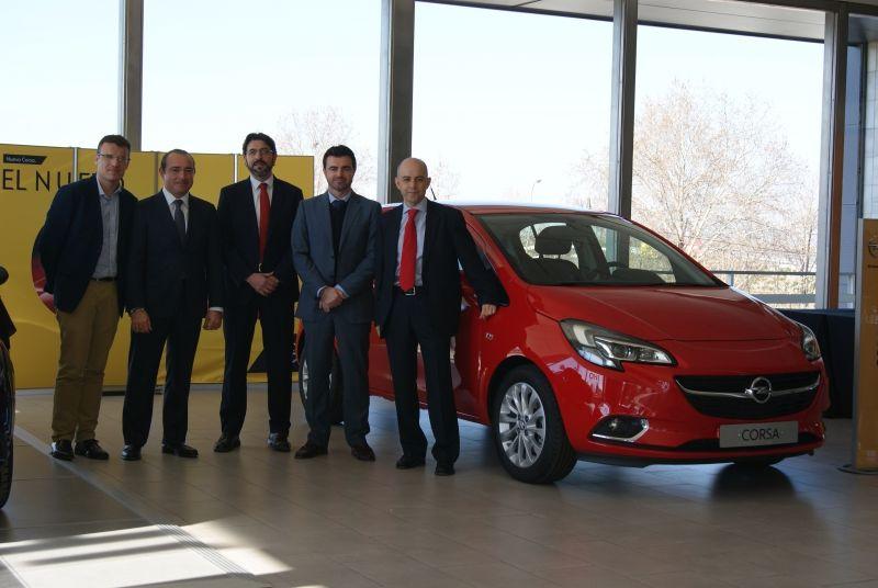 Autiberia presenta en sus renovadas instalaciones el Nuevo Opel CORSA.