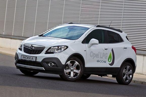 Opel Mokka: se pasa al GLP
