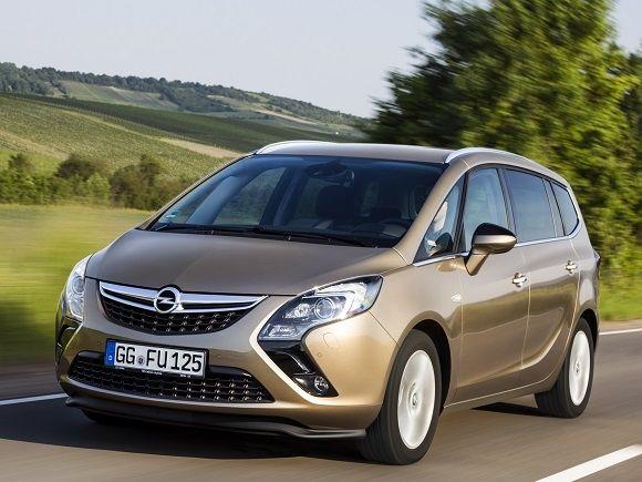 Opel Zafira Tourer también con motor 1.4 Turbo de 120 CV