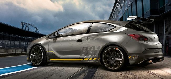 Opel Astra OPC EXTREME, camino a Ginebra