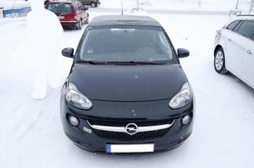 Opel Adam Cabrio: foto espía