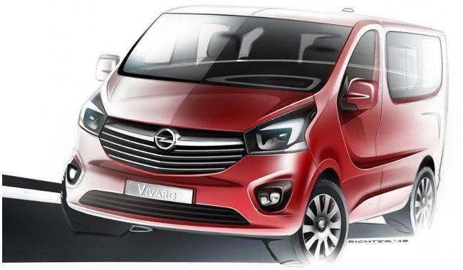 Opel Vivaro nuevo teaser