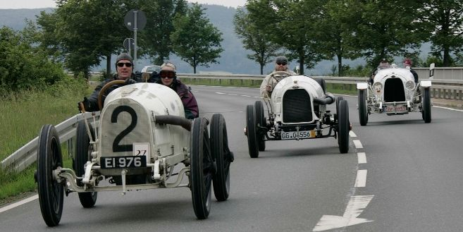 En la máquina del tiempo con Opel