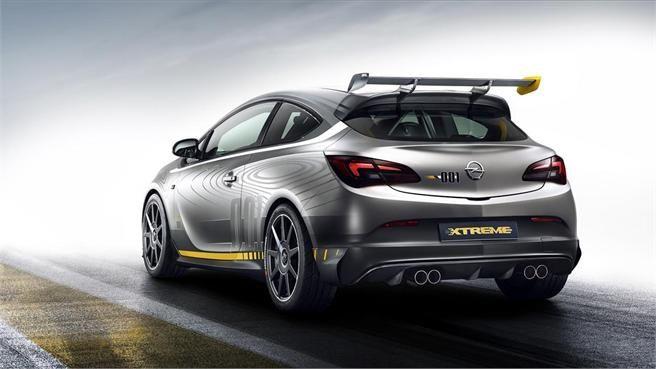 Opel Astra OPC Extreme, un titán de 330 CV