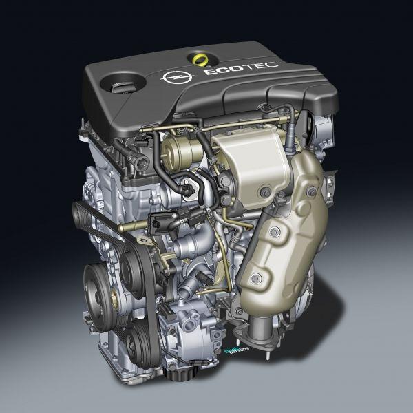 Nueva familia de motores ECOTEC de Opel