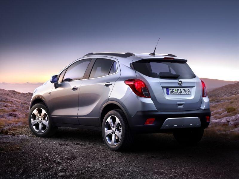 Opel Mokka: rodéate de seguridad