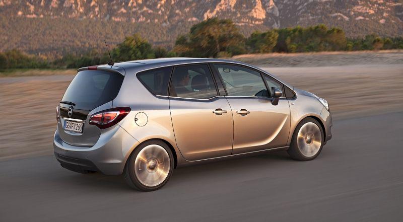 Opel Meriva: prestaciones y economía