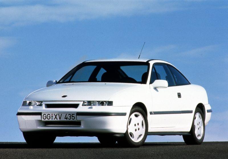El coupé de culto de Opel, el Opel Calibra cumple 25 años