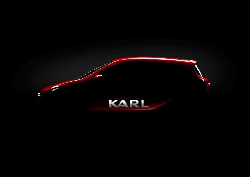 El nuevo Opel ya tiene nombre: se llamará Karl
