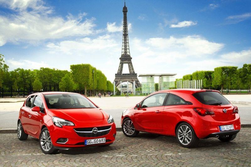 Cuatro primicias en París: Opel Corsa, ADAM S, Mokka y los motores 2.0 CDTI