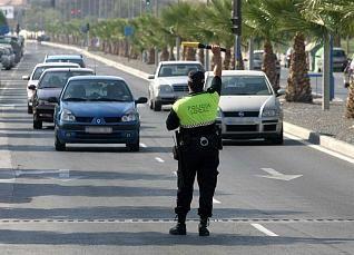 Durante las navidades las sanciones de tráfico aumentan un 10%