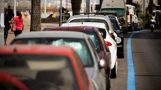 La odisea de aparcar en la calle
