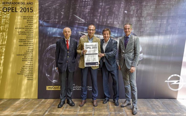 ESERMA Reparador Opel del Año 2015