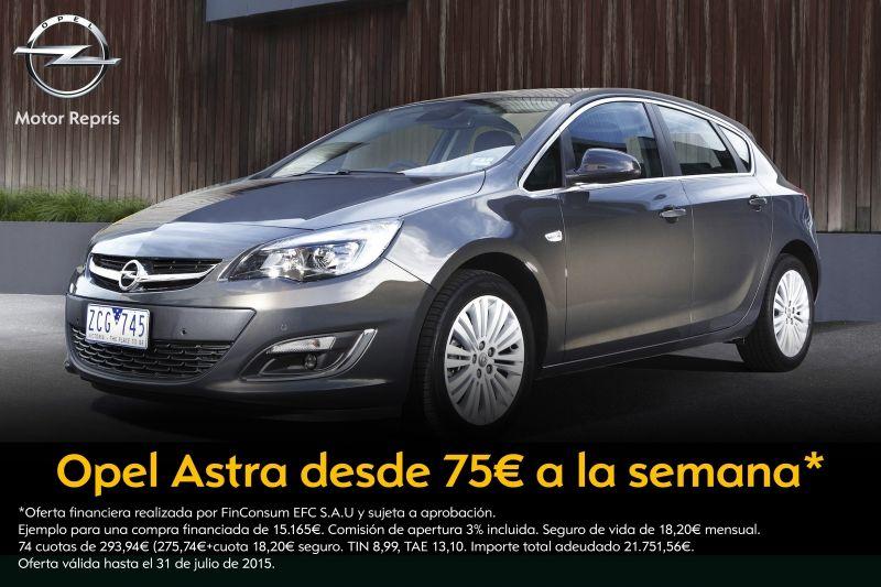 ¿Un Astra desde 75€ a la semana? En Motor Reprís, sí