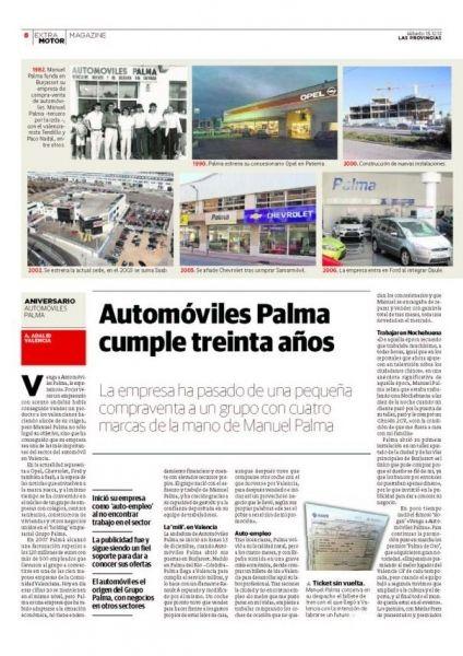 Automóviles Palma cumple 30 años.