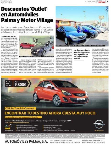 "Descuentos ""Outlet"" en Automóviles Palma"