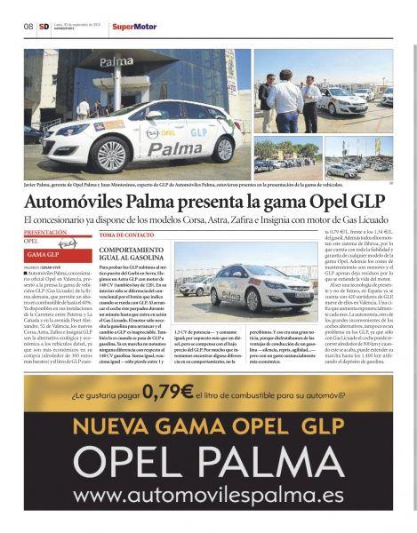 Automóviles Palma presenta la gama Opel GLP