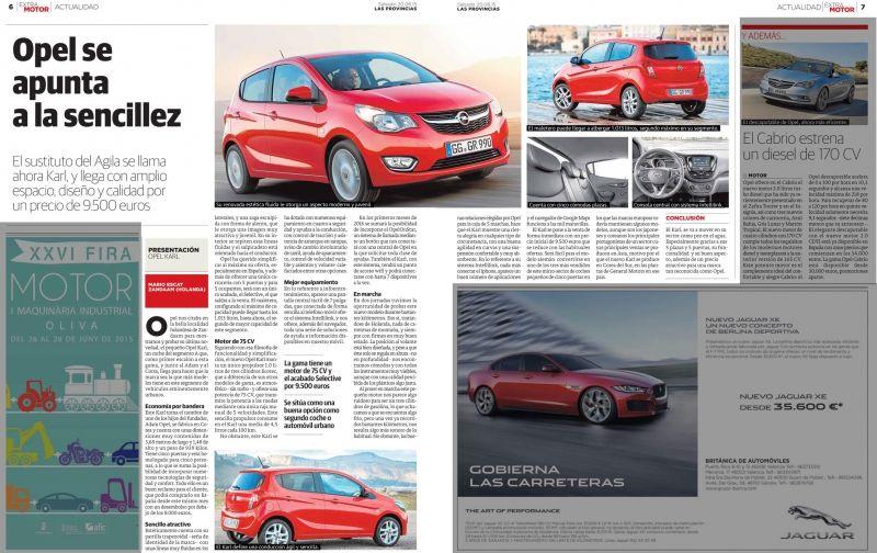 El nuevo Opel Karl ya está disponible en Palma