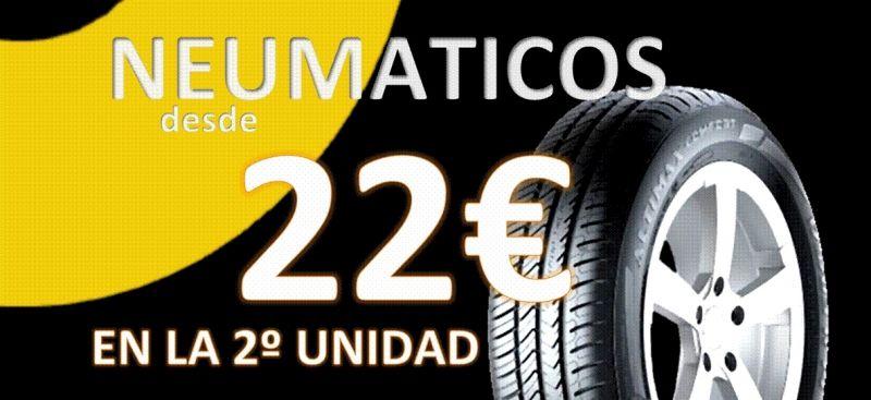 NEUMÁTICOS DESDE 22€