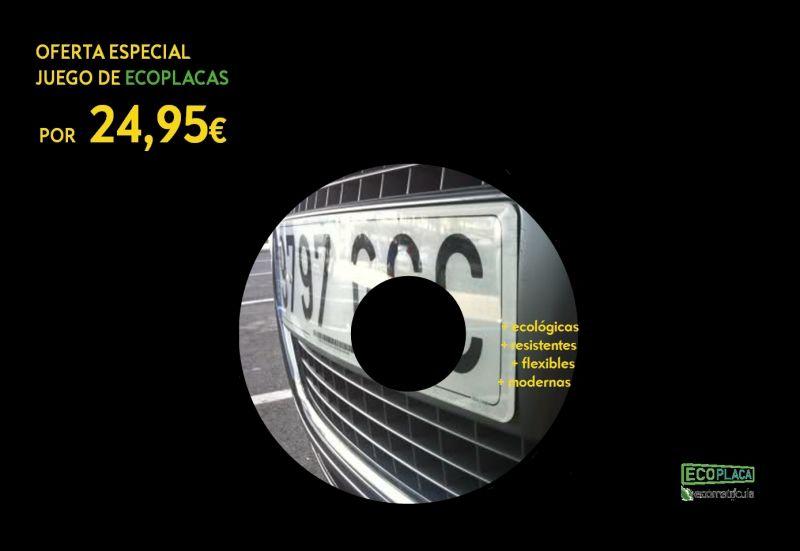 OFERTA ESPECIAL JUEGO DE ECOPLACAS POR 24,95€