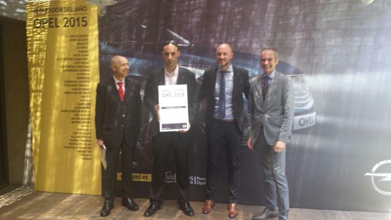 Germotor Reparador Opel del Año por 6ª vez consecutiva