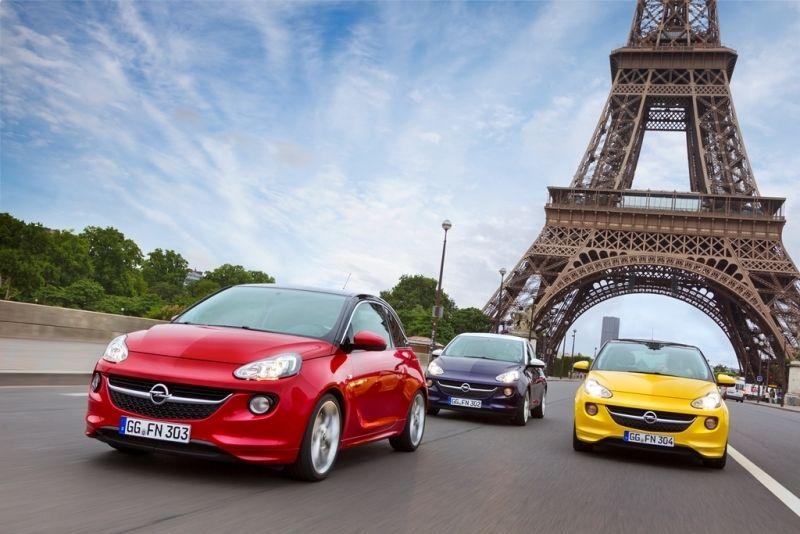 Premiere Mundial en París: El Opel ADAM Conquista la Capital de la Moda