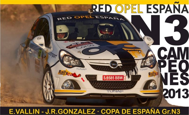 EL EQUIPO RED OPEL ESPAÑA...!CAMPEONES DE LA COPA DE ESPAÑA N3!