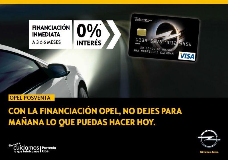 CON LA FINANCIACIÓN OPEL, NO DEJES PARA MAÑANA LO QUE PUEDAS HACER HOY.