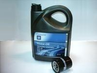 Cambio de aciete y filtro de aceite: 95,00 €