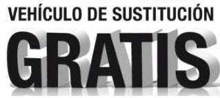 COCHE DE SUSTITUCIÓN GRATUITO