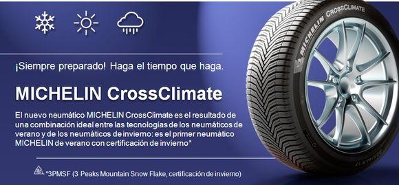 MICHELIN CrossClimate Ya disponible en GIAUTO
