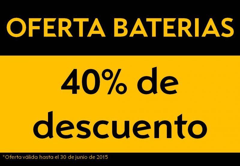 Oferta Baterias