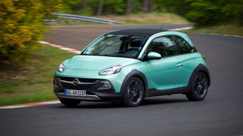 Primera prueba: Opel Adam Rocks, el 'microcrossover'