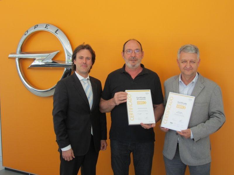 Opel Vara de Quart es premiado con el certificado RMAX