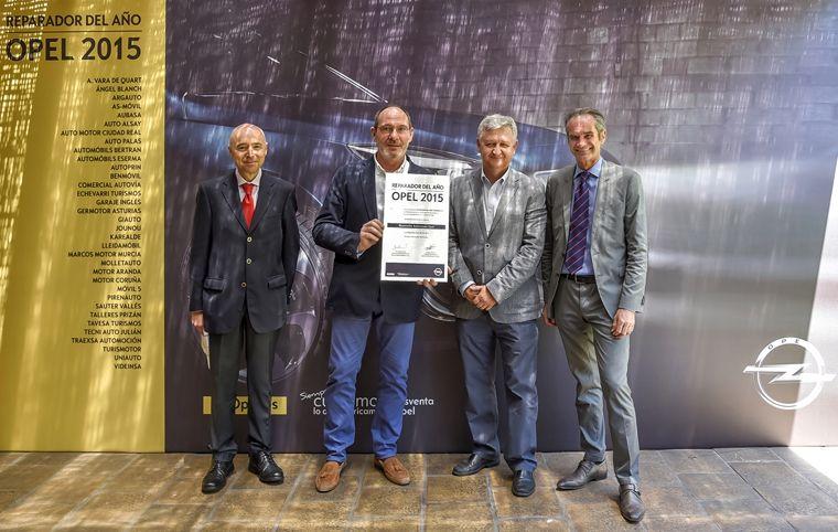 Vara de Quart Premiado Reparador Opel del Año 2015