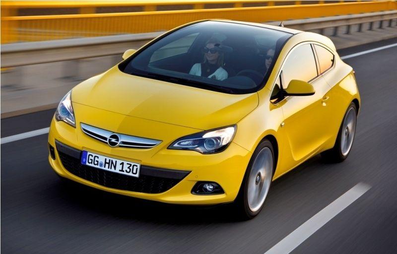 """El Opel Astra GTC gana el Premio """"red dot design"""""""