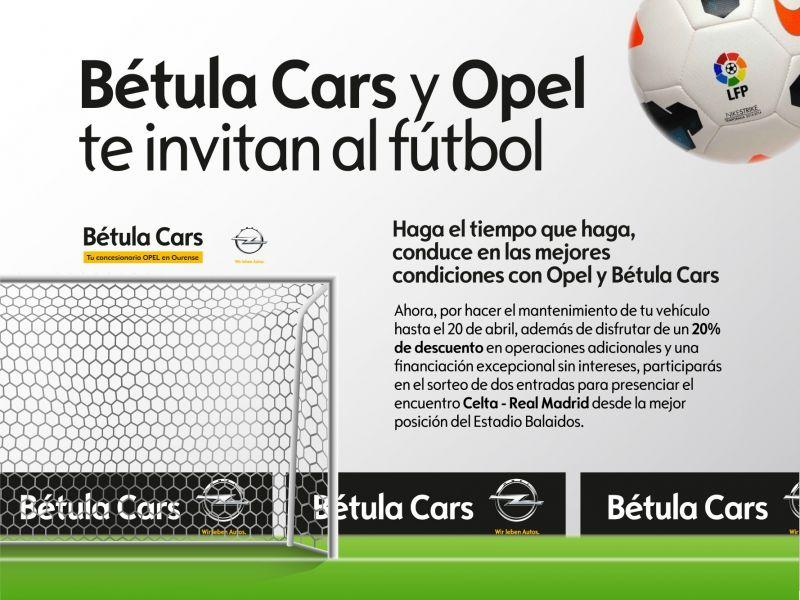 BETULA CARS TE INVITA AL FUTBOL