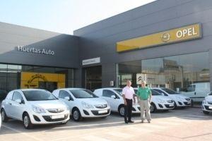 Huertas Auto amplía la flota de vehículos del Grupo Orenes