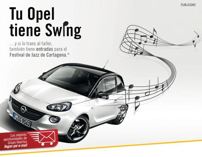 Huertas Auto Opel Cartagena te invita al Cartagena Jazz Festival 2014
